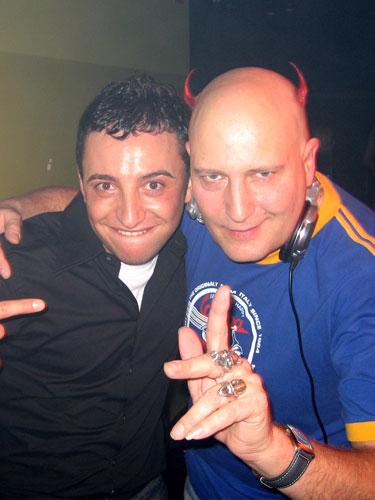 Giuseppe Vivas Begegnung mit Shaun Baker